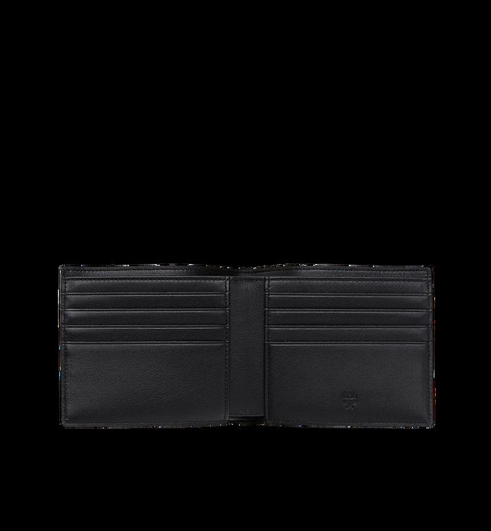 MCM Portefeuille à deux volets en M Move Visetos MXS9SCV30BK001 AlternateView4