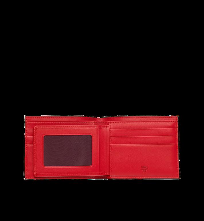 MCM Bifold with Card Case in Webbing Visetos AlternateView4