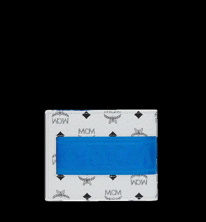 MCM Gefaltete Brieftasche mit Kartenfach in Webbing Visetos MXS9SVI93WT001 AlternateView3