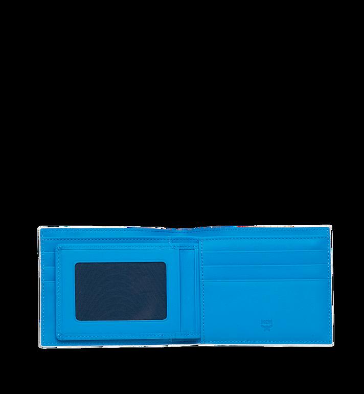 MCM Gefaltete Brieftasche mit Kartenfach in Webbing Visetos MXS9SVI93WT001 AlternateView4