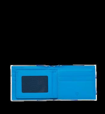 MCM Portefeuille à deuxvolets avec porte-cartes en Webbing Visetos MXS9SVI93WT001 AlternateView4