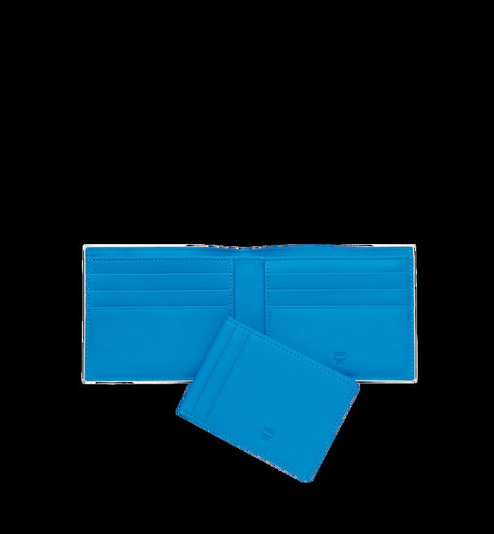 MCM Gefaltete Brieftasche mit Kartenfach in Webbing Visetos MXS9SVI93WT001 AlternateView5