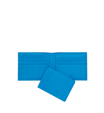 MCM Portefeuille à deuxvolets avec porte-cartes en Webbing Visetos MXS9SVI93WT001 AlternateView5
