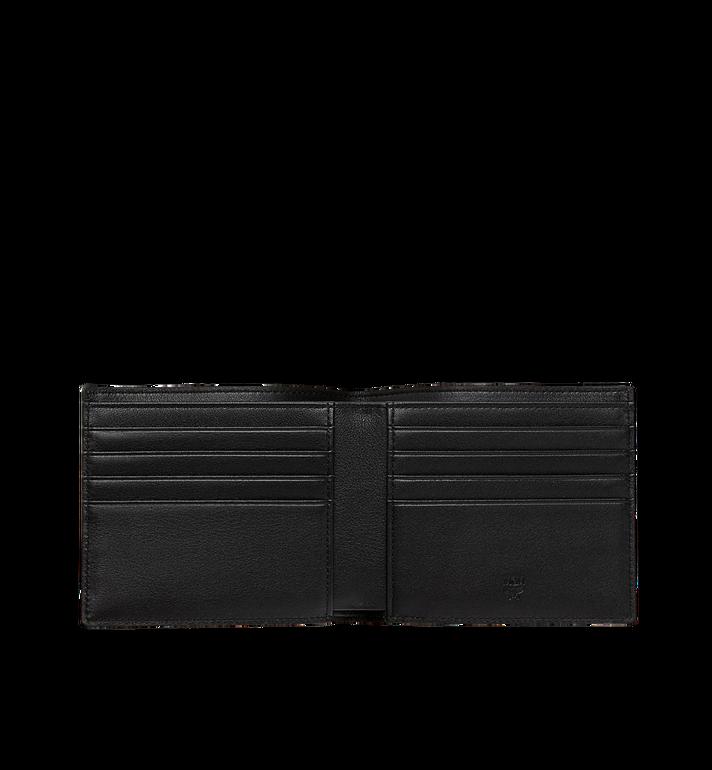 MCM Bifold Wallet in White Logo Visetos MXS9SWA07AV001 AlternateView4