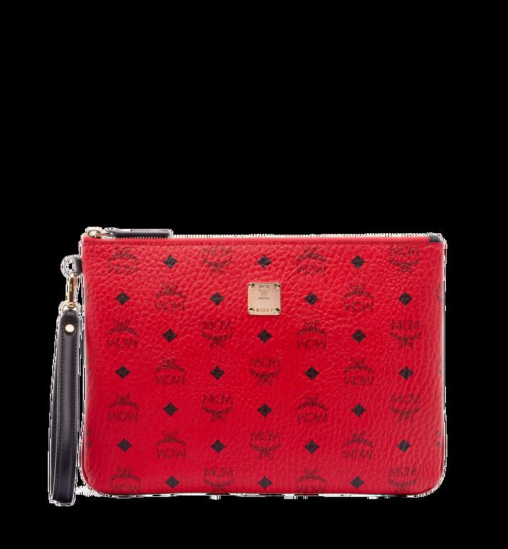 MCM Stark Tasche mit Handgelenksband in Visetos MXZ6AVE16RU001 AlternateView