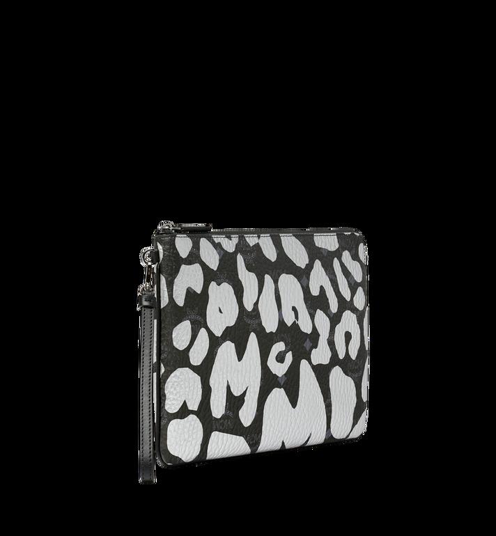 MCM Wristlet Zip Pouch in MCM Leopard Print MXZ8AVE26BK001 AlternateView2