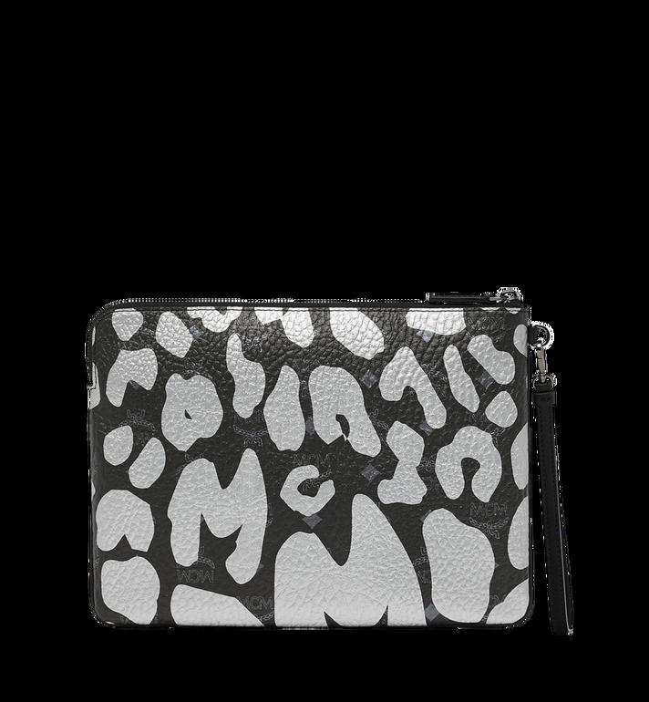 MCM Wristlet Zip Pouch in MCM Leopard Print MXZ8AVE26BK001 AlternateView3