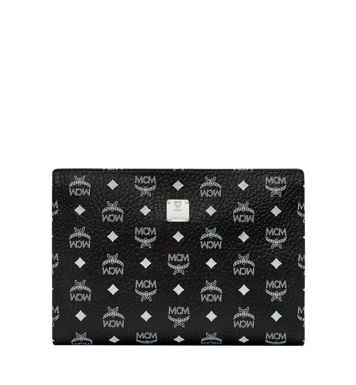 MCM Zip Pouch in Visetos Original MXZ8SVE10BV001 AlternateView