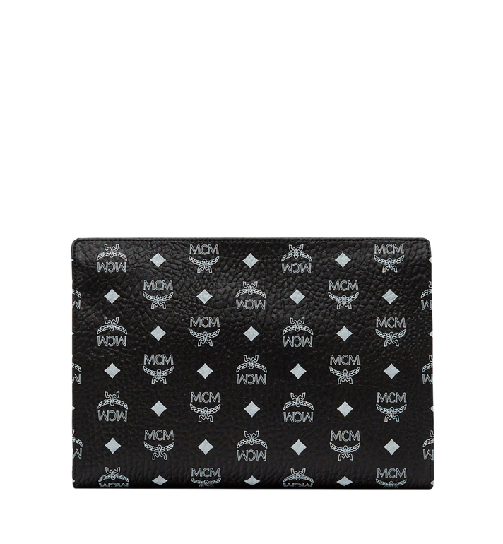 MCM Zip Pouch in Visetos Original MXZ8SVE10BV001 AlternateView4