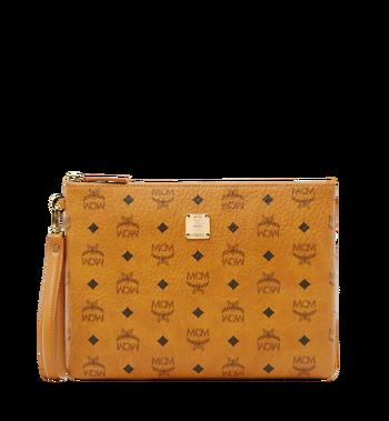 MCM Stark Tasche mit Handgelenksband in Visetos AlternateView