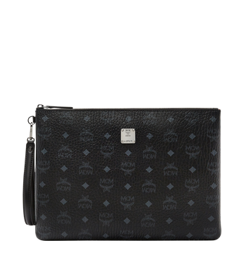 MCM Stark Tasche mit Handgelenksband in Visetos MXZ8SVI17BK001 AlternateView