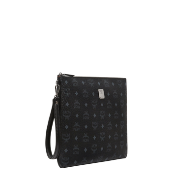 MCM Stark Tasche mit Handgelenksband in Visetos MXZ8SVI17BK001 AlternateView2