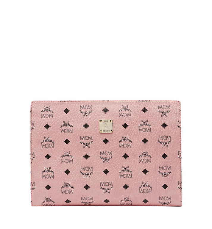 MCM Zip Pouch in Visetos Original MXZ8SVI70PZ001 AlternateView
