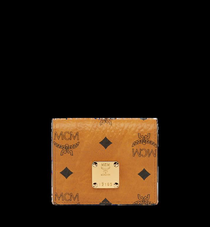 MCM Heritage Card Case in Visetos MYA6AVI85CO001 AlternateView