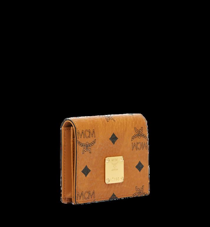 MCM Heritage Card Case in Visetos MYA6AVI85CO001 AlternateView2
