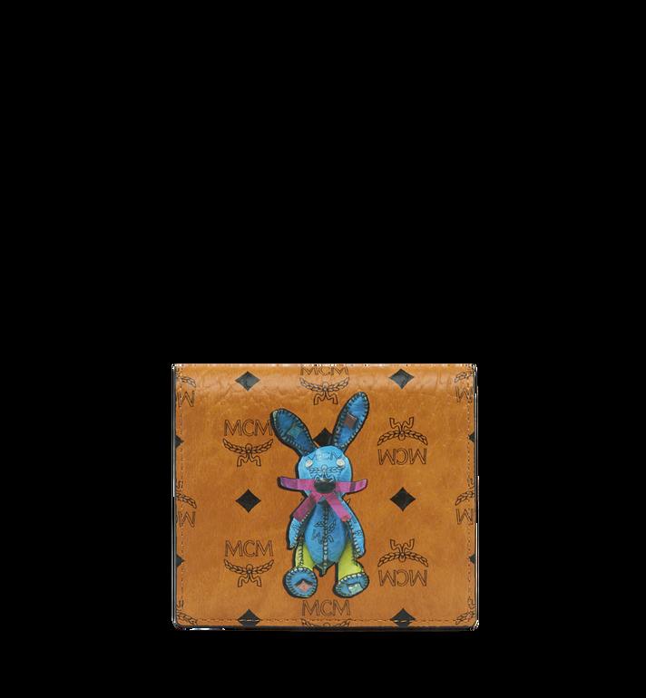 MCM Rabbit ID Wallet in Visetos MYA7AXL15CO001 AlternateView