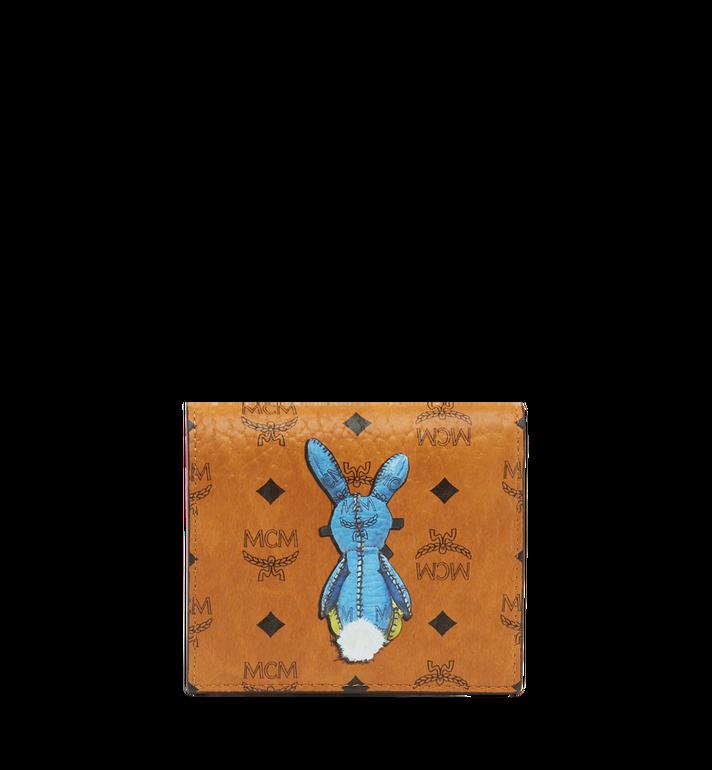 MCM Rabbit ID Wallet in Visetos MYA7AXL15CO001 AlternateView3