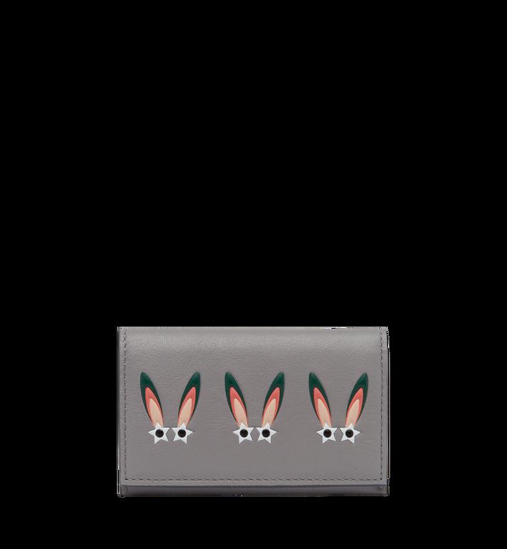 MCM Porte-cartes Star Eyed Bunny en cuir MYA7AXL34SS001 AlternateView