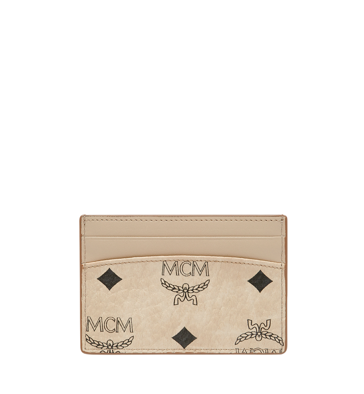 MCM Porte-cartes MCM X Eddie Kang en Visetos MYA8SOC48IG001 AlternateView3