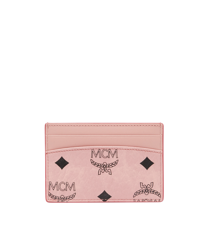 MCM MCM x Eddie Kang Card Case in Visetos MYA8SOC48PZ001 AlternateView3