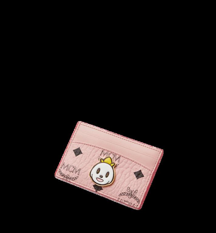 MCM MCM x Eddie Kang Card Case in Visetos MYA8SOC48PZ001 AlternateView4