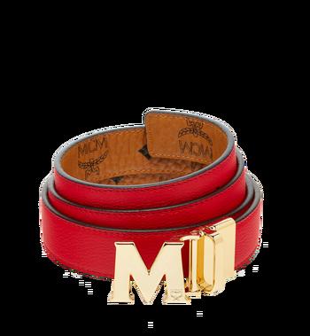 "MCM Color Visetos Reversible Belt 1"" MYB6AVC09RU001 AlternateView2"