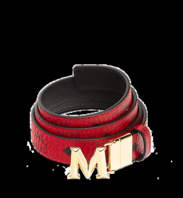 "MCM Claus 3D M Reversible Belt 1.2"" in Visetos MYB6AVC11RU001 AlternateView"