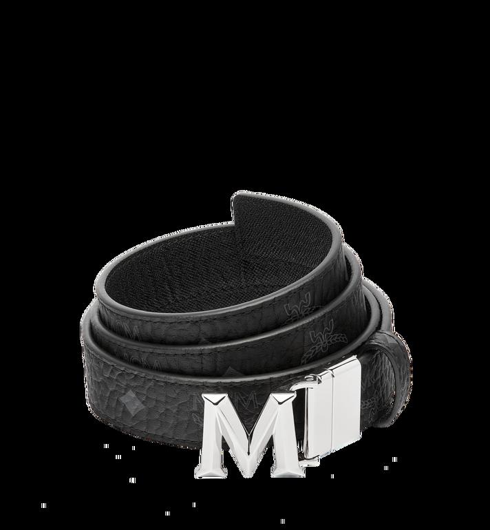 "MCM Claus 3D M Reversible Belt 1.2"" in Visetos MYB6AVC12BK001 AlternateView"