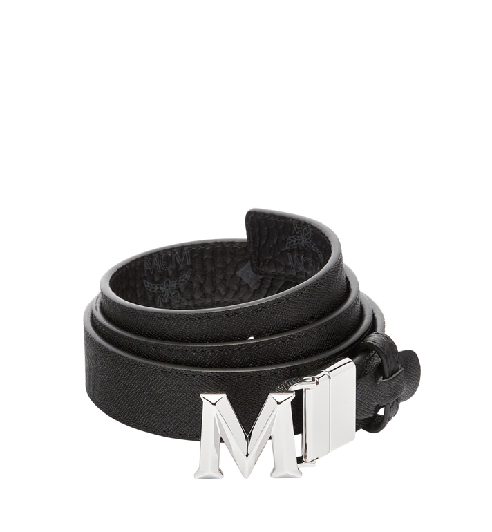 "MCM Claus 3D M Reversible Belt 1.2"" in Visetos MYB6AVC12BK001 AlternateView2"
