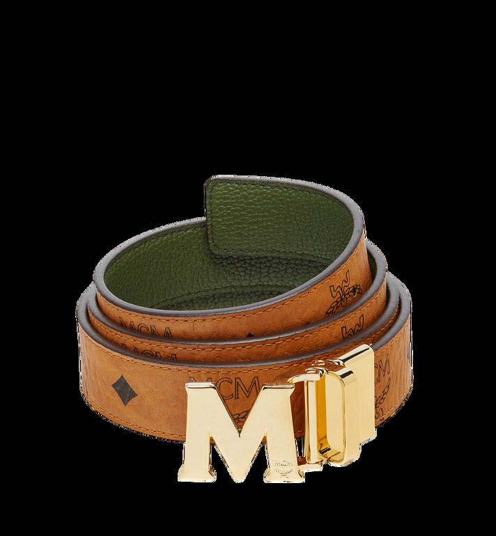 """MCM Claus M Reversible Belt 1.2"""" in Visetos MYB7AVC09GX001 AlternateView"""