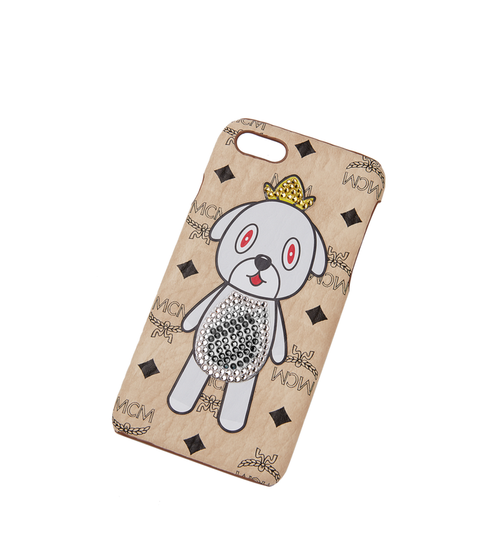 MCM MCM x Eddie Kang Gray iPhone 6S/7/8 Case MYE8SOC03IG001 AlternateView4