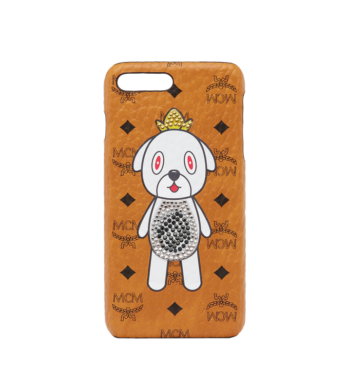 MCM Coque pour iPhone 8 MCM X Eddie Kang Gray MYE8SOC04CO001 AlternateView1