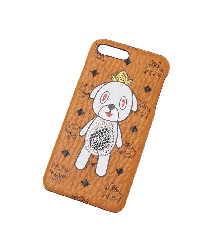 MCM Coque pour iPhone 8 MCM X Eddie Kang Gray MYE8SOC04CO001 AlternateView4