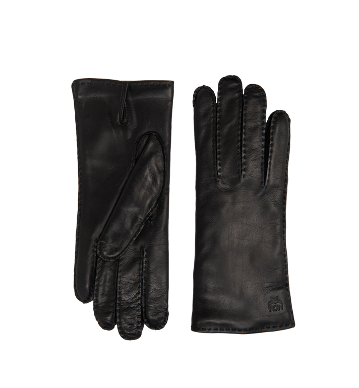 MCM Women's Gloves in Leather MYG7AMM15BK00M AlternateView