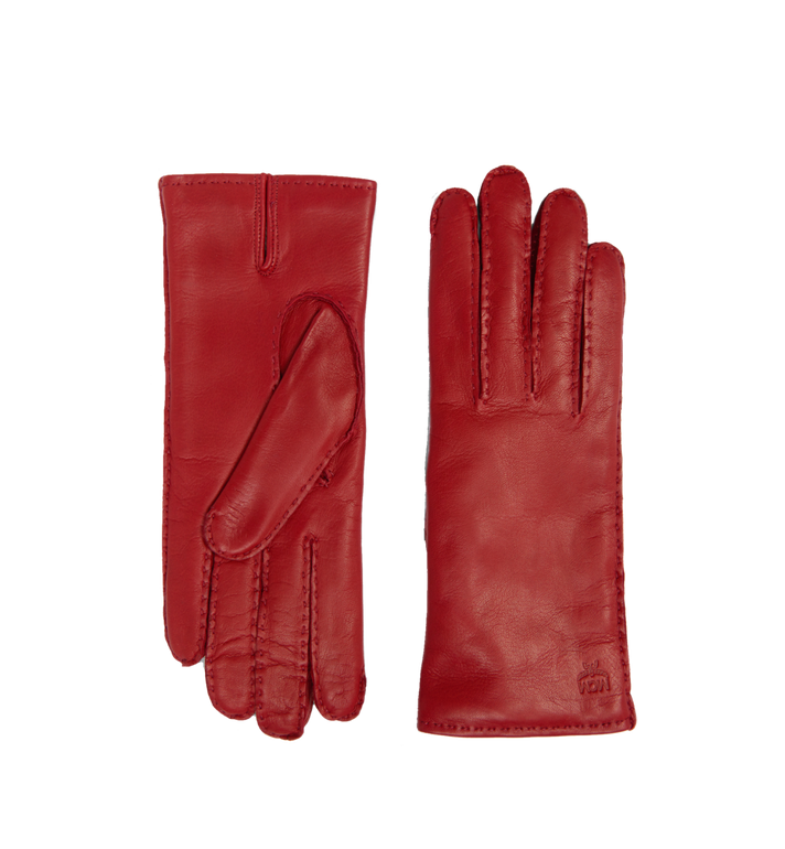 MCM Women's Gloves in Leather MYG7AMM15RY00M AlternateView