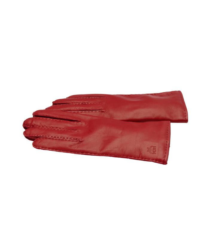 MCM Women's Gloves in Leather MYG7AMM15RY00M AlternateView2