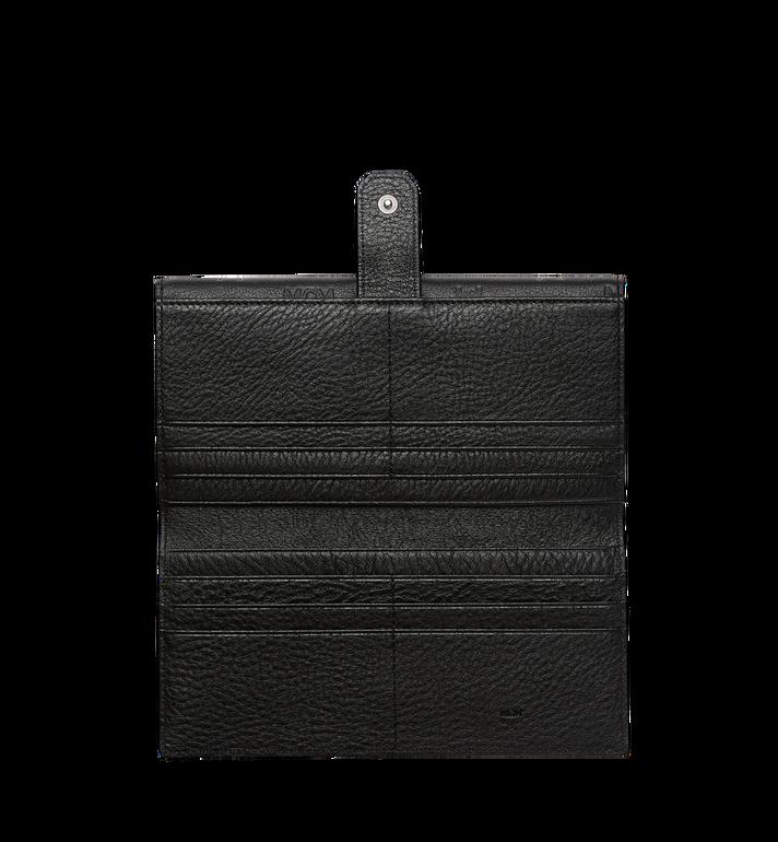 MCM Klara gefaltete Brieftasche aus Leder mit Monogramm MYL7AKM02BK001 AlternateView5