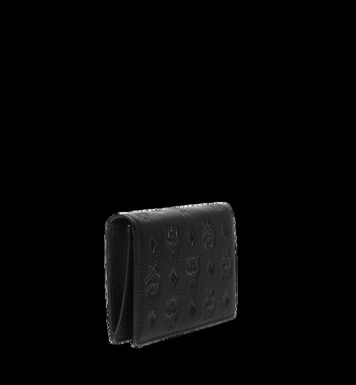 MCM Klara gefaltete Brieftasche aus Leder mit Monogramm MYL7AKM12BK001 AlternateView2