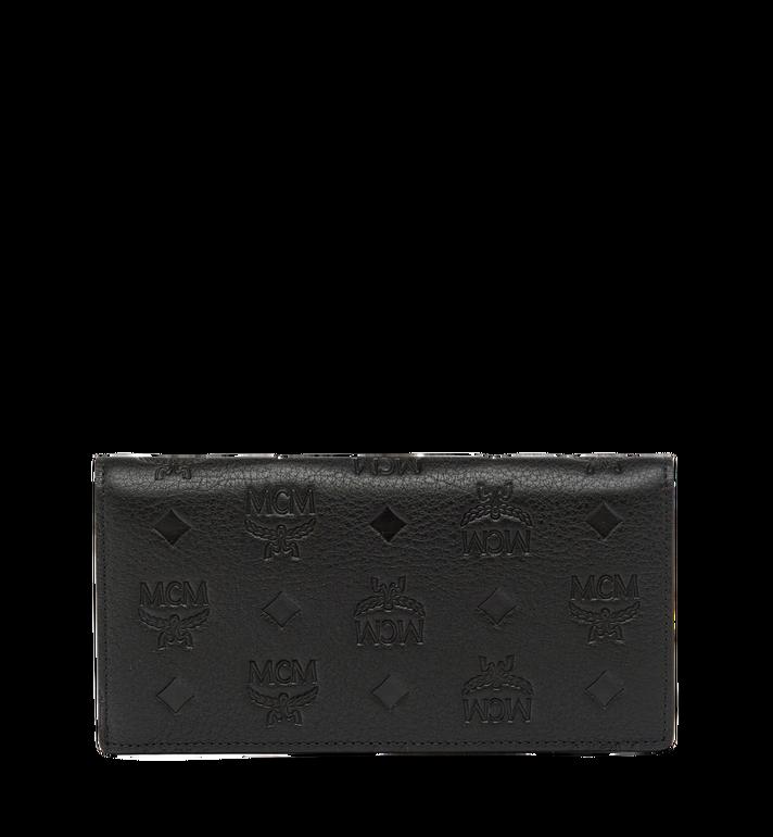 MCM Klara gefaltete Brieftasche aus Leder mit Monogramm MYL7AKM12BK001 AlternateView3