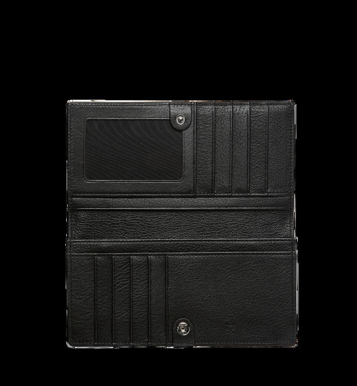 MCM Klara gefaltete Brieftasche aus Leder mit Monogramm MYL7AKM12BK001 AlternateView4