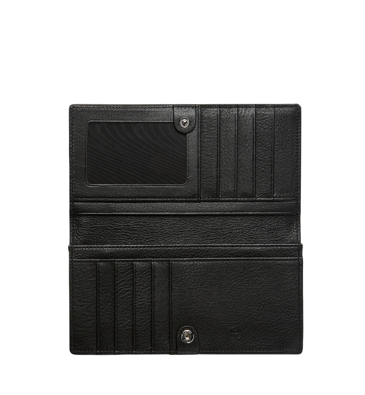 MCM Klara Two Fold Wallet in Monogram Leather MYL7AKM12BK001 AlternateView4