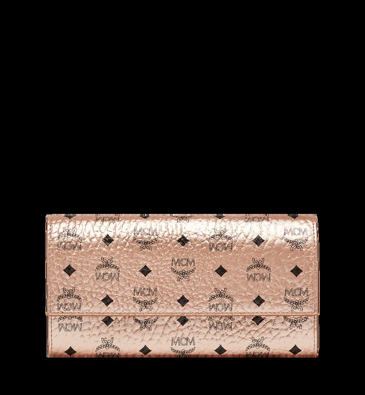 MCM Two Fold Wallet in Visetos Original MYL8AVI99TC001 AlternateView