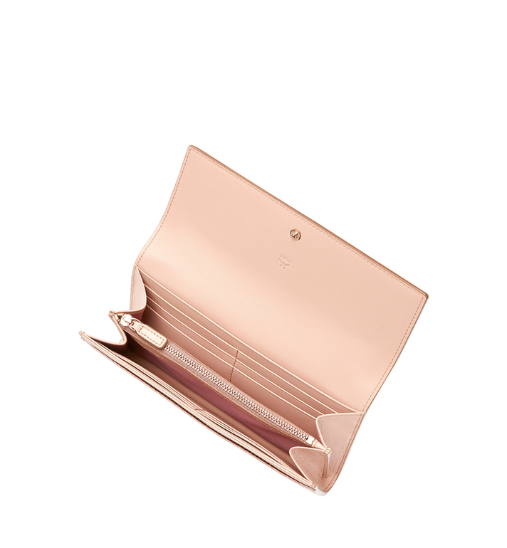 MCM Two Fold Wallet in Visetos Original MYL8AVI99TC001 AlternateView4