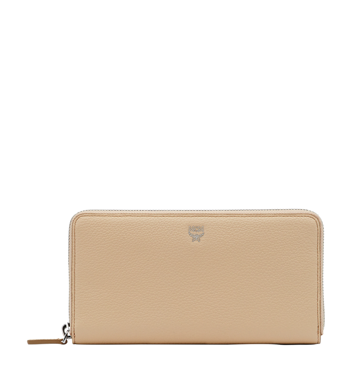 MCM Milla Zip Around Wallet in Grained Leather MYL8SMA04IA001 AlternateView