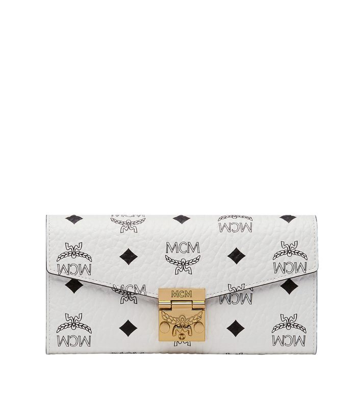 MCM Patricia Crossbody Wallet in Visetos MYL8SPA11WT001 AlternateView