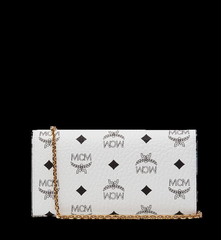 MCM Patricia Crossbody Wallet in Visetos MYL8SPA11WT001 AlternateView3