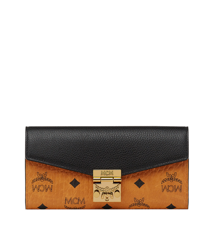 MCM Patricia Crossbody Wallet in Visetos Leather Block MYL8SPA91CO001 AlternateView
