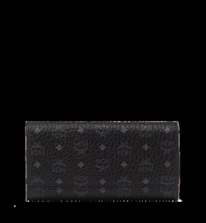 MCM Original dreifach gefaltete Brieftasche in Visetos MYL8SVI48BK001 AlternateView