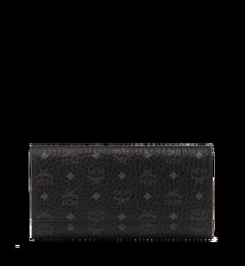 MCM Three Fold Wallet in Visetos Original MYL8SVI48BK001 AlternateView