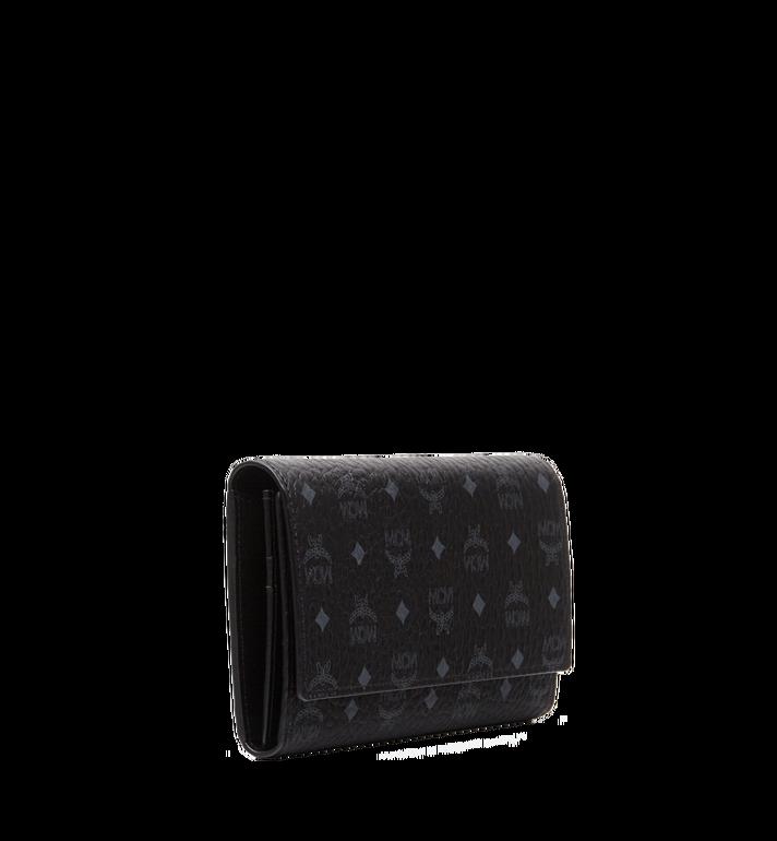 MCM Original dreifach gefaltete Brieftasche in Visetos MYL8SVI48BK001 AlternateView2